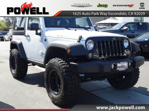 NEW 2017 JEEP WRANGLER WILLYS WHEELER 4X4