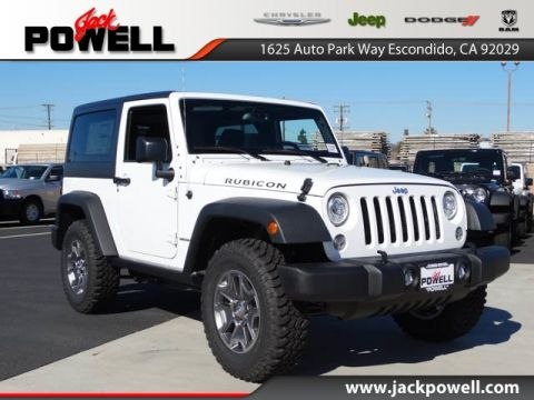 NEW 2017 JEEP WRANGLER RUBICON 4X4