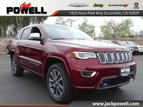 NEW 2017 JEEP GRAND CHEROKEE OVERLAND 4X2
