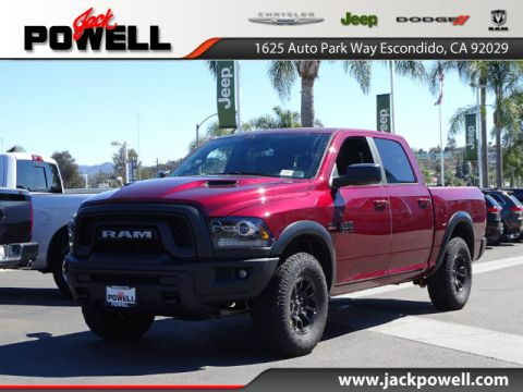 NEW 2018 RAM 1500 REBEL CREW CAB 4X4 5'7 BOX