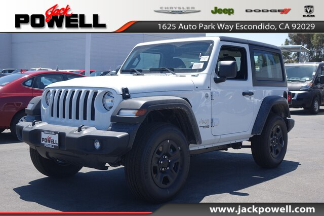 Jeep Dealership San Diego >> New 2019 Jeep Wrangler Sport 4x4