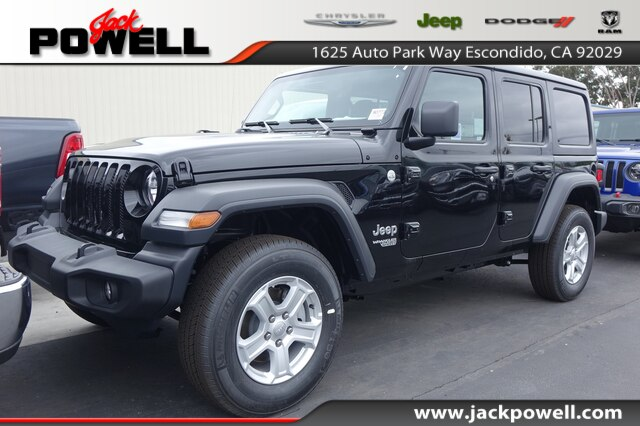 5b701fff New 2019 JEEP Wrangler Unlimited Sport S Sport Utility in Escondido ...