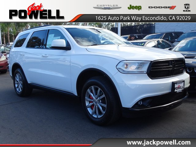 Certified Pre Owned 2016 Dodge Durango Sxt