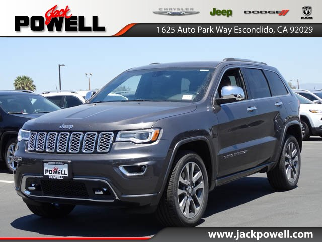 new 2017 jeep grand cherokee overland sport utility in escondido 71130 jack powell chrysler. Black Bedroom Furniture Sets. Home Design Ideas