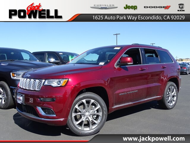 New 2019 Jeep Grand Cherokee Summit 4x4