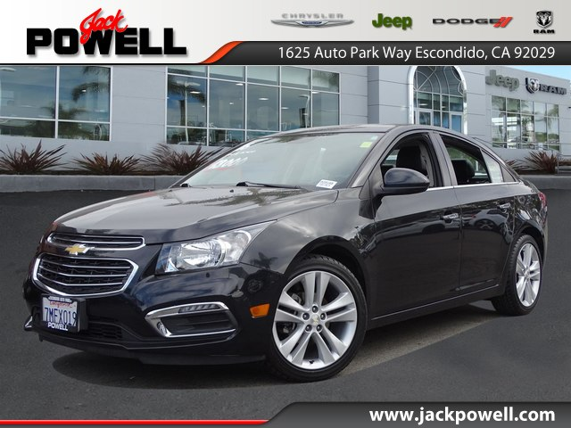 Pre Owned 2016 Chevrolet Cruze Limited Ltz Auto