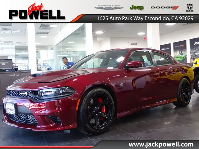 New 2019 Dodge Charger Srt Hellcat Sedan In Escondido 90448 Jack