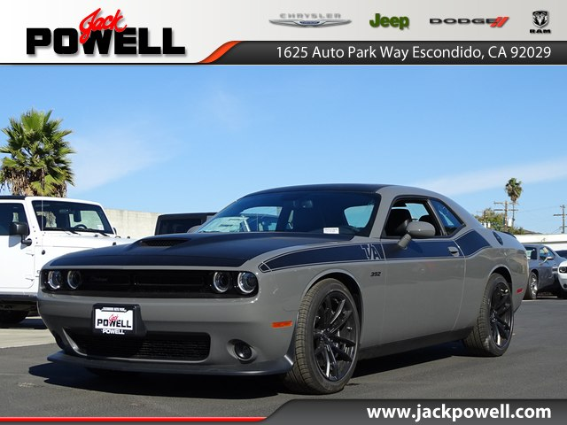 New 2018 Dodge Challenger Srt8 392 Coupe In Escondido 80285 Jack