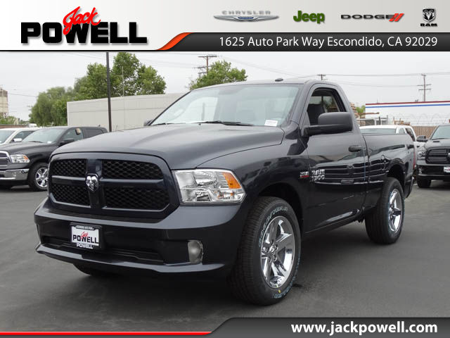 new 2017 ram 1500 express regular cab in escondido 70932 jack powell chrysler dodge jeep ram. Black Bedroom Furniture Sets. Home Design Ideas