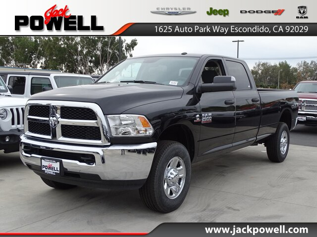 NEW 2018 RAM 2500 TRADESMAN CREW CAB 4X4 8' BOX