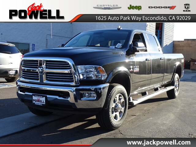 NEW 2018 RAM 2500 BIG HORN CREW CAB 4X4 8' BOX