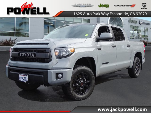 Pre Owned 2017 Toyota Tundra Trd Pro 5 7l V8