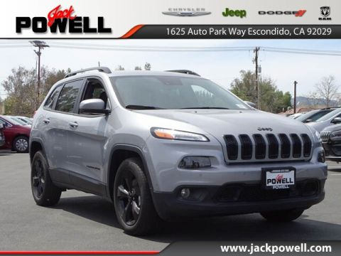 New 2017 JEEP Cherokee Altitude