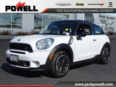 Pre-Owned 2015 MINI Paceman Cooper S